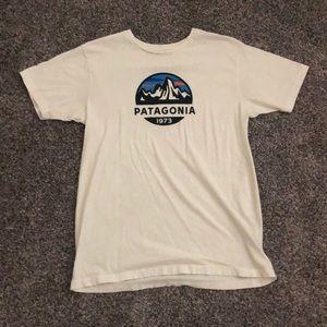 White 1973 Patagonia T-Shirt